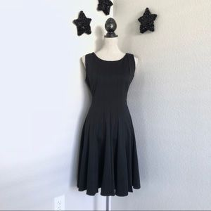 Black Calvin Klein Fit and Flare Dress 14